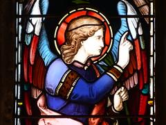 Church - St Mary, Kirkby Lonsdale 180405 [stained glass window 2c] (maljoe) Tags: church churches stmarys kirkbylonsdale stmaryskirkbylonsdale stmaryschurchkirkbylonsdale stainedglass stainedglasswindow stainedglasswindows