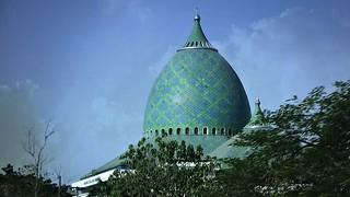 INDONESIEN, Java, Surabaya - große neue Moschee, 17525/10100