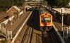2754 arrives (OzzRod) Tags: pentax k1 smcpentaxm40mmf28 railway station platform train tracks signal dailyinapril2018 waratah newcastle australia