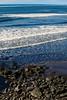 Along the Jetty at Landeyjahöfn (wyojones) Tags: iceland southiceland landeyjahöfn jetty harbor blacksand rocks basalt waves ocean sea atlanicocean