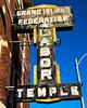 Working Worship (Hammond Deggs) Tags: nebraska sign neon union labor small city