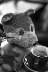 Der Espresso schmeckt so fein! (WolfiWolf-presents-WolfiWolf) Tags: wolfiwolf wolf wolfi werwolfi espresso butler butleruniversum kaffee coffee conductor creator chef eneamaemü sadstube stüben stube ouawascherln niftyfifty sondereinsatz kaffeesatz sodbrennen süden suff schnell guat universe musik mühe neumond nochmal treffen mahlzahn schneidezahn eckzahn mahlzeit windhund farky allerwertester