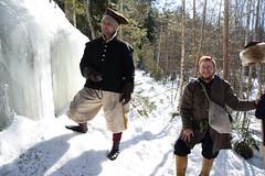 Jääputous (GARS Savolax) Tags: nuuksio histelvaellus historianelävöitys historianelävöittäminen gars 1600luku
