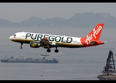 A320-214   Philippines AirAsia   PUREGOLD   RP-C8975   HKG (Christian Junker   Photography) Tags: nikon nikkor d800 d800e dslr 70200mm aero plane aircraft airbus a320214 a320200 320 a320 32s philippinesairasia coolred z2 apg z21264 apg1264 coolred1264 rpc8975 narrowbody puregold specialscheme specialcolour speciallivery lowcostcarrier lcc arrival landing 25r fog haze airline airport aviation planespotting 2425 hongkonginternationalairport cheklapkok vhhh hkg clk hkia hongkong sar china asia lantau terminal2 t2 skydeck christianjunker flickraward flickrtravelaward zensational hongkongphotos worldtrekker superflickers