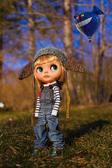 Ballooning Lilliputians (hcorleybarto) Tags: blythe hcbdolls doll customblythe