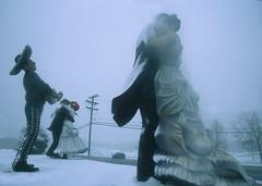 Sculpture Garden 14 (stevensiegel260) Tags: sculpture statue snow blizzard snowstorm newjersey sculpturegarden winter dancers
