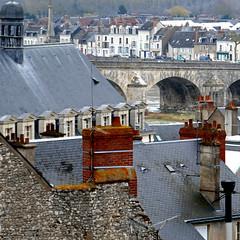 Blois, France (pom'.) Tags: panasonicdmctz101 march 2018 blois loiretcher 41 centrevaldeloire loire bridge roofs france europeanunion 100 200 300