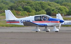 G-CEKO (goweravig) Tags: gceko robin cadet dr400 visiting aircraft swansea wales uk swanseaairport