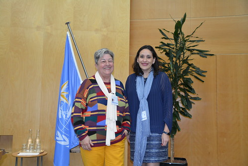 Ms M. Brunet (Spain) and Ms B. Tapie (Chile)