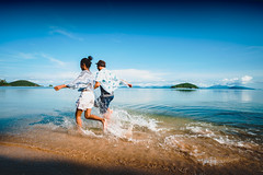 Asian teenage girl and boy running on the beach, Koh Mak Thailand (Patrick Foto ;)) Tags: asia asian beach boy break concept couple female freedom friends friendship fun girl happiness happy healthy holiday island joy leisure lifestyle love male man nature ocean outdoors people person playing portrait recreation run sand sea spring summer teen teenage teenager teens together tourism tourist travel two vacation water waves young tambonkohchangtai changwattrat thailand th
