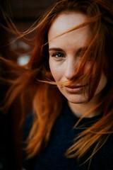 colour13 (James Green Imaging) Tags: red hair blue redhair longhair portrait colourportrait headshot beauty beautiful czech model eyes