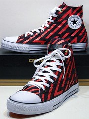 Year of The Monkey - Cherry Red & Wine Red Hi 152537C (hadley78) Tags: converse cons chucks collection ct chucktaylors chuck taylor taylors tops top thatconverseguy guinness worldrecord world record ripleys joshuamueller joshua mueller year the monkey