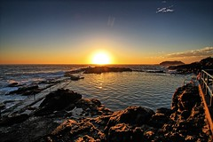 Rock pool sunrise. (Ian Ramsay Photographics) Tags: rockpool sunrise kiama newsouthwales australia