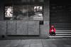 Cines Callao (fernando_gm) Tags: selective colour color street calle callejera city ciudad madrid callao plaza red rojo fujifilm fuji 35mm f14 xt1 gente people person persona cine cinema grey gris colorselectivo selectivecolour