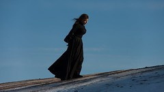 Затерянный эйдос идеального никуда {11} (dewframe) Tags: winter longwinter womanatnature cold journey mind emotive whitehills alone windy artistic expression femme