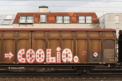 COOLIO (LAPD crew) (rebecca2909) Tags: coolio transwaggon fr8 freight train graffiti graff