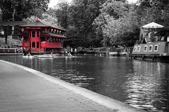 Red Hut On The River Front (Kieran J Williams) Tags: angle architecture abstract animal alley view viewpoint sky shutter speed shadow saturate silhouette skyline saturation colour color composition comment canon camera contrast colors cold colours city clouds sun symmetry photography photo perspective priority pattern person black blackandwhite white gradient light like life landscape lens lights low lines leadinglines