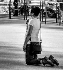 In Prayer (paweesit) Tags: sanctuaryofourladyoflourdes lourdes france prayer meditation kneeling blackandwhite bw monochrome devotion pray faith amen paweesit reverence reflection holy outdoor surreal pilgrim pilgrimage sony worship photo photograph interesting