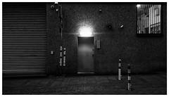 Dusk (RadarO´Reilly) Tags: dämmerung dusk street strase streetphotography strasenfotografie sw schwarzweis bw blackwhite blanconegro monochrome noiretblanc zwartwit iserlohn mk nrw germany