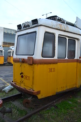 BKV Zrt 3831 (Will Swain) Tags: seen angyalföld kocsiszín budapest 8th january 2018 tram trams light rail railway rails transport travel europe hungary east eastern county country central capital city centre depot yard bkv zrt 3831
