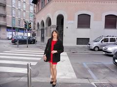 Milan - Via Merano (Alessia Cross) Tags: crossdresser tgirl transgender transvestite travestito