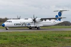 Canaryfly / ATR75 / EC-MLF / LFRS (_Wouter Cooremans) Tags: nte nantes lfrs nantesatlantique airport aeroport spotting spotter avgeek aviation airplanespotting canaryfly atr75 ecmlf atr72
