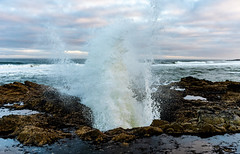 Thor's Well (Ranbo (Randy Baumhover)) Tags: oregon oregoncoast pacificocean thorswell capeperpetua hwy101