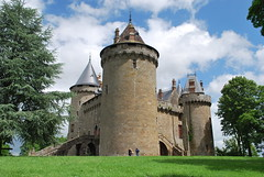 Château de Combourg (CRAddison) Tags: castle fortress medieval defensive fort stone building chateau home france brittany french towers combourg keep