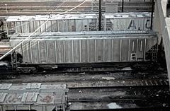 CB&Q Class LO-10 185055 (Chuck Zeiler) Tags: cbq class lo10 185055 burlington railroad covered hopper freight car cicero train chuckzeiler chz