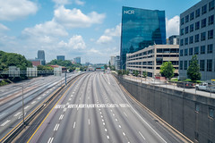 The Day Traffic Died in Atlanta (Jon Ariel) Tags: atlanta georgia northgeorgia ga city traffic