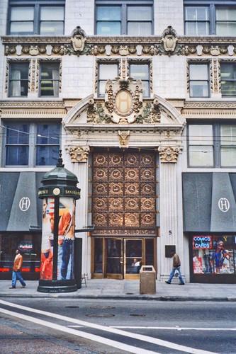 San Francisco  - California  - Hearst Building - Historic
