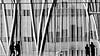 Silhouettes, Reflections and Distortions (gerard eder) Tags: world travel reise viajes europa europe españa spain spanien städte street stadtlandschaft streetlife streetart barcelona reflections spiegelung people architecture architektur arquitectura distortion silhouettes blackandwhite blackwhite blancoynegro bw sw outdoor