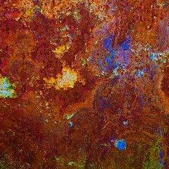 Abstract (StephenReed) Tags: abstract art abstractart metal rust paint chippedpaint colors square nikond3300 stephenreed