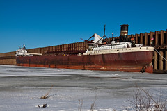 SS American Victory (tubaman21) Tags: superior wisconsin superiorwisconsin np ore dock northern pacific northernpacific americanvictory algoma central algomacentral