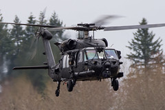 ARMY COPTER 20246 (Kaiserjp) Tags: 20246 1020246 160thsoar armycopter20246 blackhawk ftlewis grayaaf h60 jblm mh60 mh60m usarmy uh60 uh60m nightstalkers nsdq specops specialoperations helicopter sikorsky black military army avgeek puyallup thunfield airport lowapproach planespotting