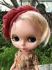Pixie Benton (Emily1957) Tags: pixie pixiebenton kenner kennerblythe shorthair shorthairedkenner blythe dolls doll toys toy plastic jazzyfran bw beret red