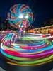 Colours trail (BP Chua) Tags: marinabay marinabaysingapore marinabaysg marinabaycarnival carnival amusement park night olympus colours trails longexposure prudential
