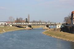 Nysa Kłodzka (magro_kr) Tags: nysa polska poland opolskie śląsk slask silesia nysakłodzka nysaklodzka rzeka woda most architektura river water bridge architecture