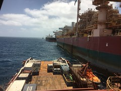FPSO Okha Offtake (YoungMariner) Tags: fpso okha offshore ship oil gas support ahts psv