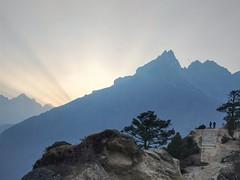 Sunset in Himalayas (gandhi88) Tags: nepal kathmandu everestbasecamp trek himalayas mountain sunset oneplus travel tengboche