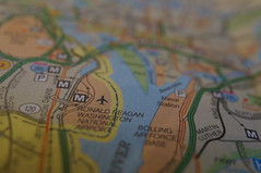 Paper Map, #Macro Mondays# Back in the Day (lena6363) Tags: macromondays backintheday map macro
