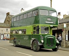 574CNW Leeds Corp (martin 65) Tags: 1418 routemaster westyorkshire standerwicks aec daimler leeds yorkshire road transport public preserved preservation kirkby stephen classic commercial vehicle vintage bus buses cumbria
