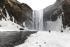 Skógafoss (José M. Arboleda) Tags: paisaje waterfall skógafoss cascada catarata río skógá agua nieve hielo roca islandia canon eos 5d markiv ef1635mmf4lisusm josémarboledac