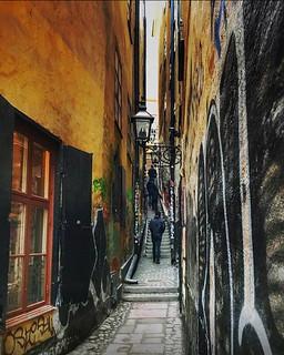 ~ narrow ~ Mårten Trotzigs alley, Old Town, Stockholm, Sweden