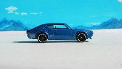 Hot Wheels Then And Now Nissan Skyline 2000 GT-R 2017 : Bonneville Salt Flats - 10 Of 14 (Kelvin64) Tags: hot wheels then and now nissan skyline 2000 gtr 2017 bonneville salt flats