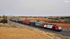 TECO Logitren (lagunadani) Tags: teco tren ferrocarril higueruela locomotora logitren albacete paisaje railway