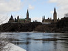 The House of Parliament and the West Block buildings seen from Victoria Island in Ottawa, Ontario (Ullysses) Tags: houseofparliament parliamenthill westblock federalgovernment ottawa ontario canada spring printemps ottawariver rivièredesoutaouais victoriaisland turtleisland