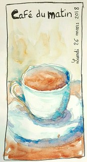 Café du matin.