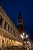Lights in Piazza San Marco (fentonphotography) Tags: venice campanile nightphotography lamps tower italy architecture nightshot cityscape