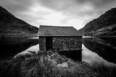 Llyn Ogwen Boathouse (ed027) Tags: ifttt 500px boat water lake house boats black white long exposure mono blur mood moody reflection mountains reflections mountain snow grass grassland national park historic historical history old beautiful beauty nature monochrome brick stone